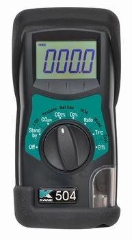 KANE 504 l'analyseur de gaz de combustion IR