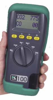 KANE 100 handheld CO and CO2 analyser