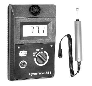 Gann Uni1/B50 universal indicating moisture/humidity meter