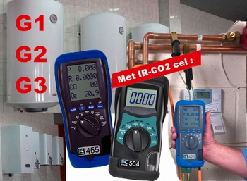 Infrared flue gas analyzers