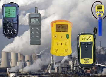 Personal Gas Monitors / Portable Gas Detectors
