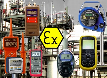 Ex : intrinsically safe instruments